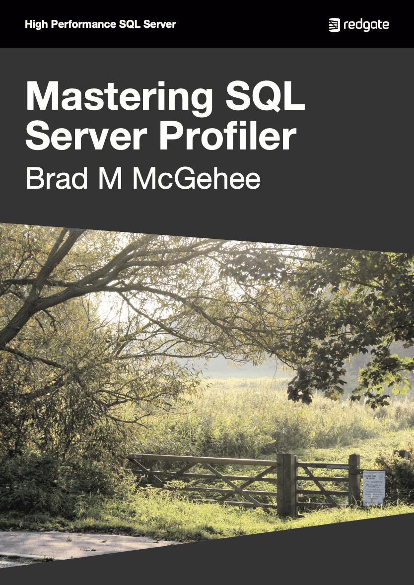 Mastering SQL Server Profiler eBook cover