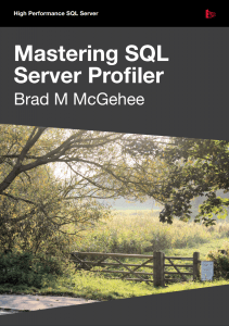 Mastering SQL Server Profiler eBook Download