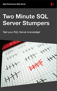 Two Minute SQL Server Stumpers eBook Download