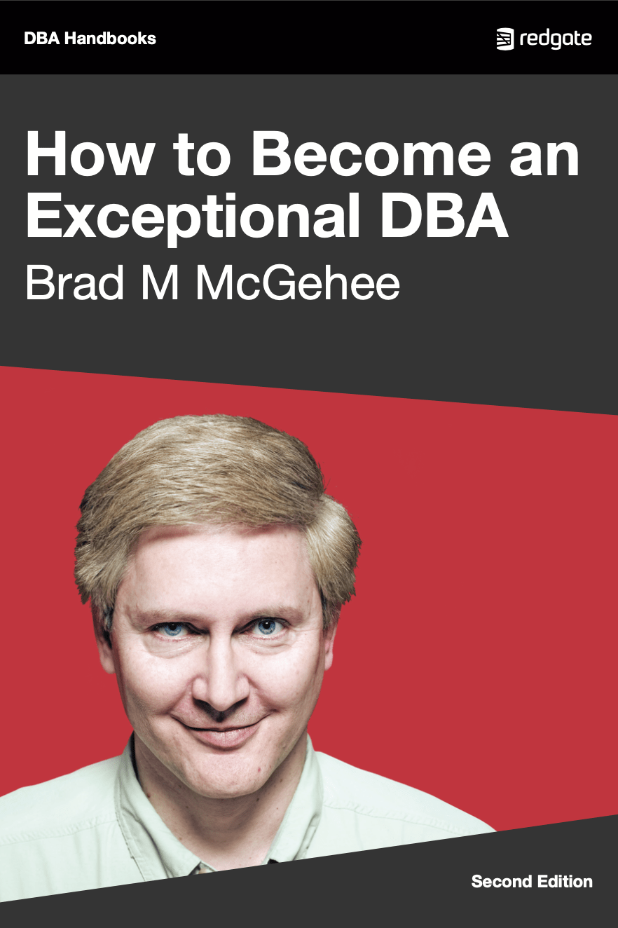 How to Become an Exceptional DBA eBook Cover