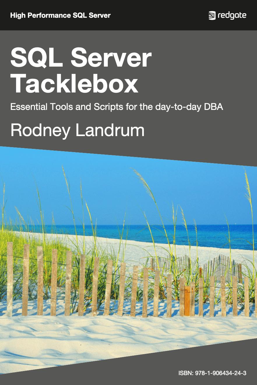 SQL Server Tacklebox eBook cover