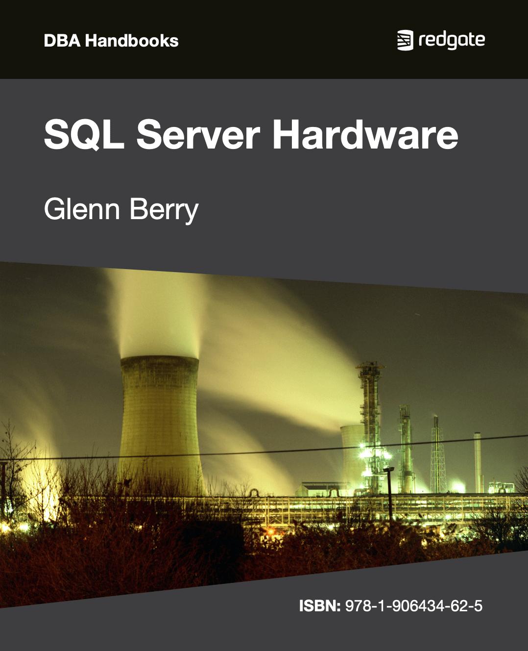 SQL Server Hardware eBook cover