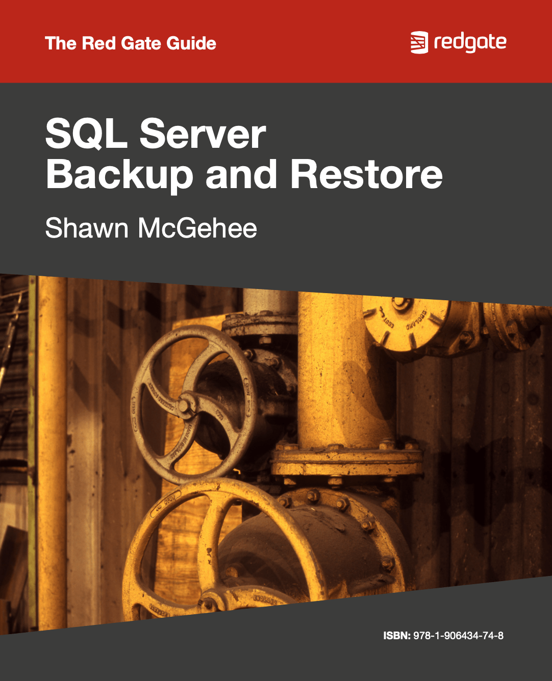 SQL Server Backup and Restore eBook cover