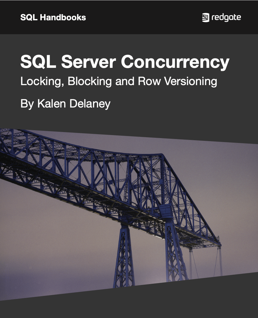 SQL Server Concurrency eBook cover