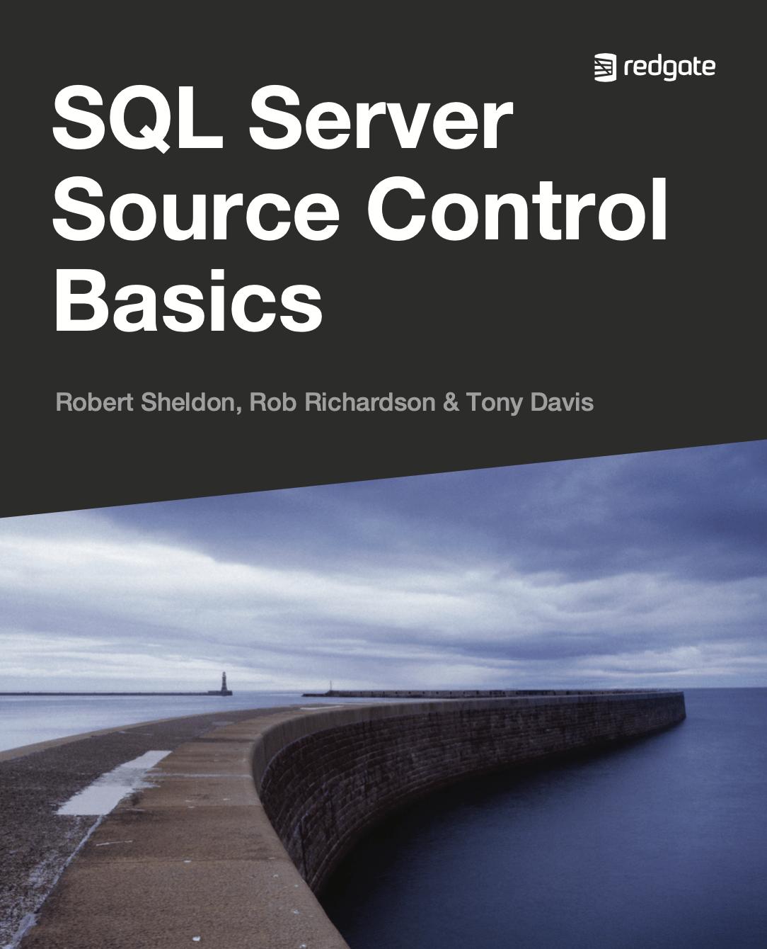 SQL Server Source Control Basics eBook cover
