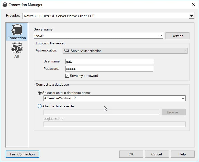 Uploading On-Premises Data as JSON to Azure Blob Storage using SSIS