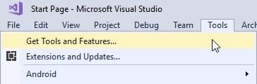 Getting new tools in Visual Studio