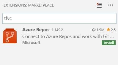 Azure Repos Extension