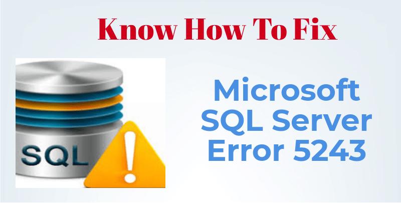 microsft-sql-server-error screenshot