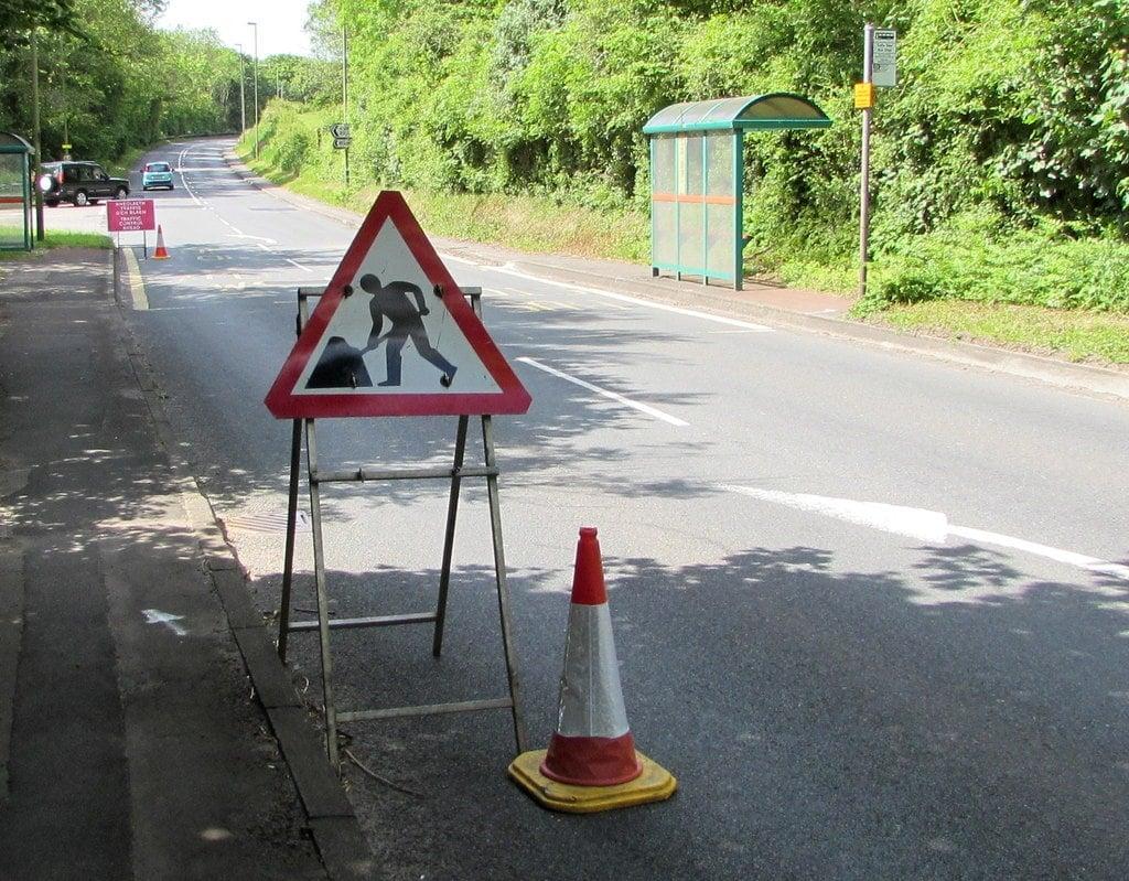 roadworks image