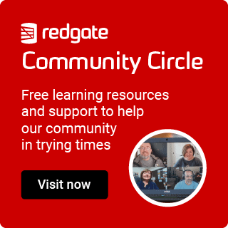 Advert for Redgate Community Circle