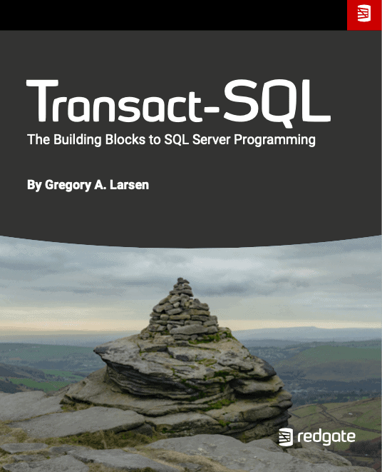 Transact-SQL: The Building Blocks to SQL Server Programming eBook by Gregory A. Larsen