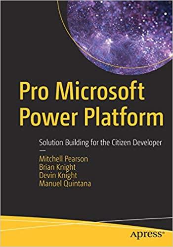 Pro Microsoft Power Platform Cover
