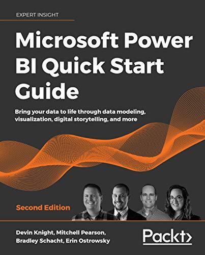 Microsoft Power Bi Quick Start Guide Book Cover