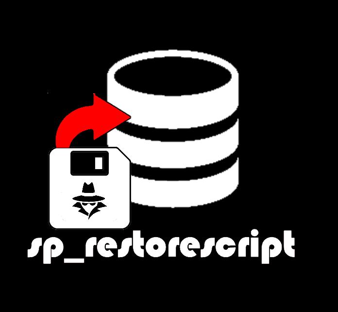 sp_restorescript
