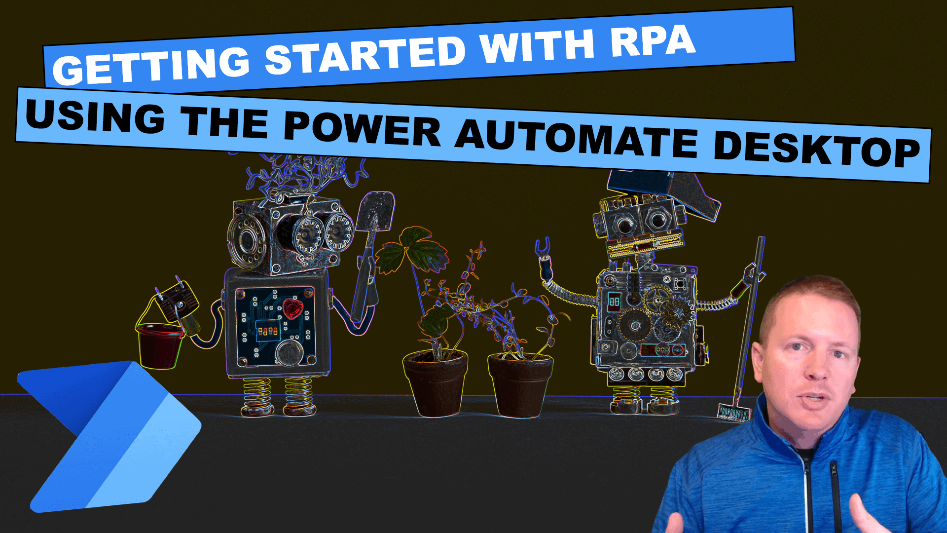 Getting Started with RPA using the power automate desktop cover image