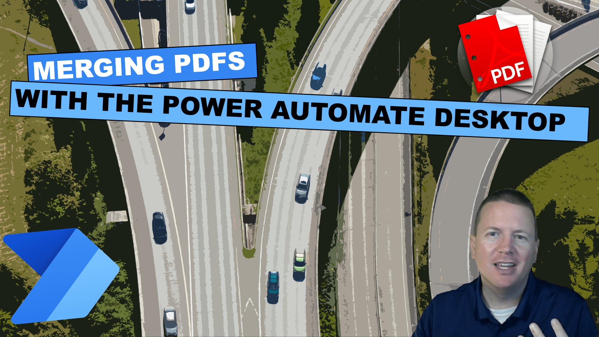 Merging PDF'S with the Power to Automate Desktop Cover image
