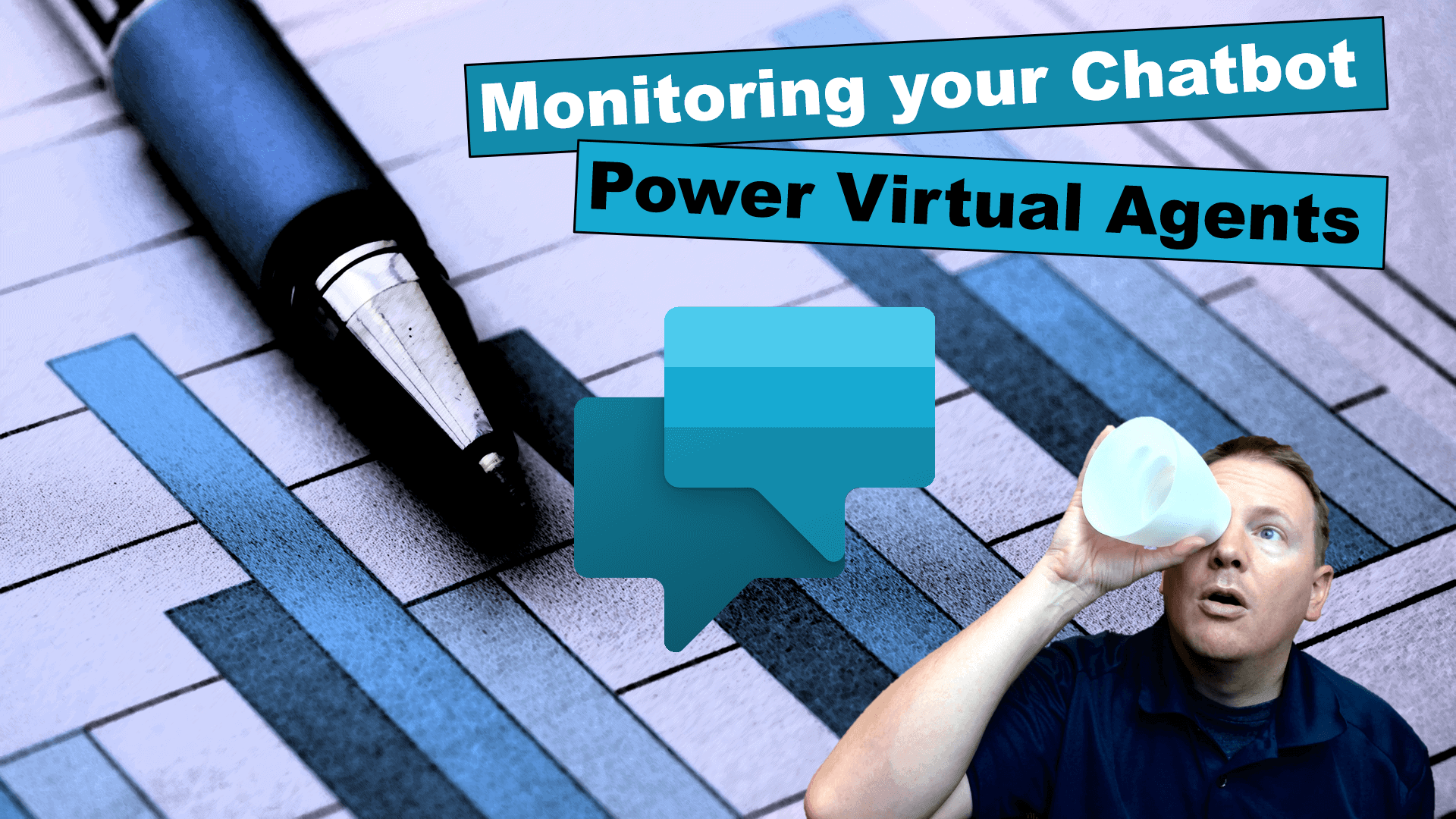 Monitoring your Chatbot Power Virtual Agents cover photo