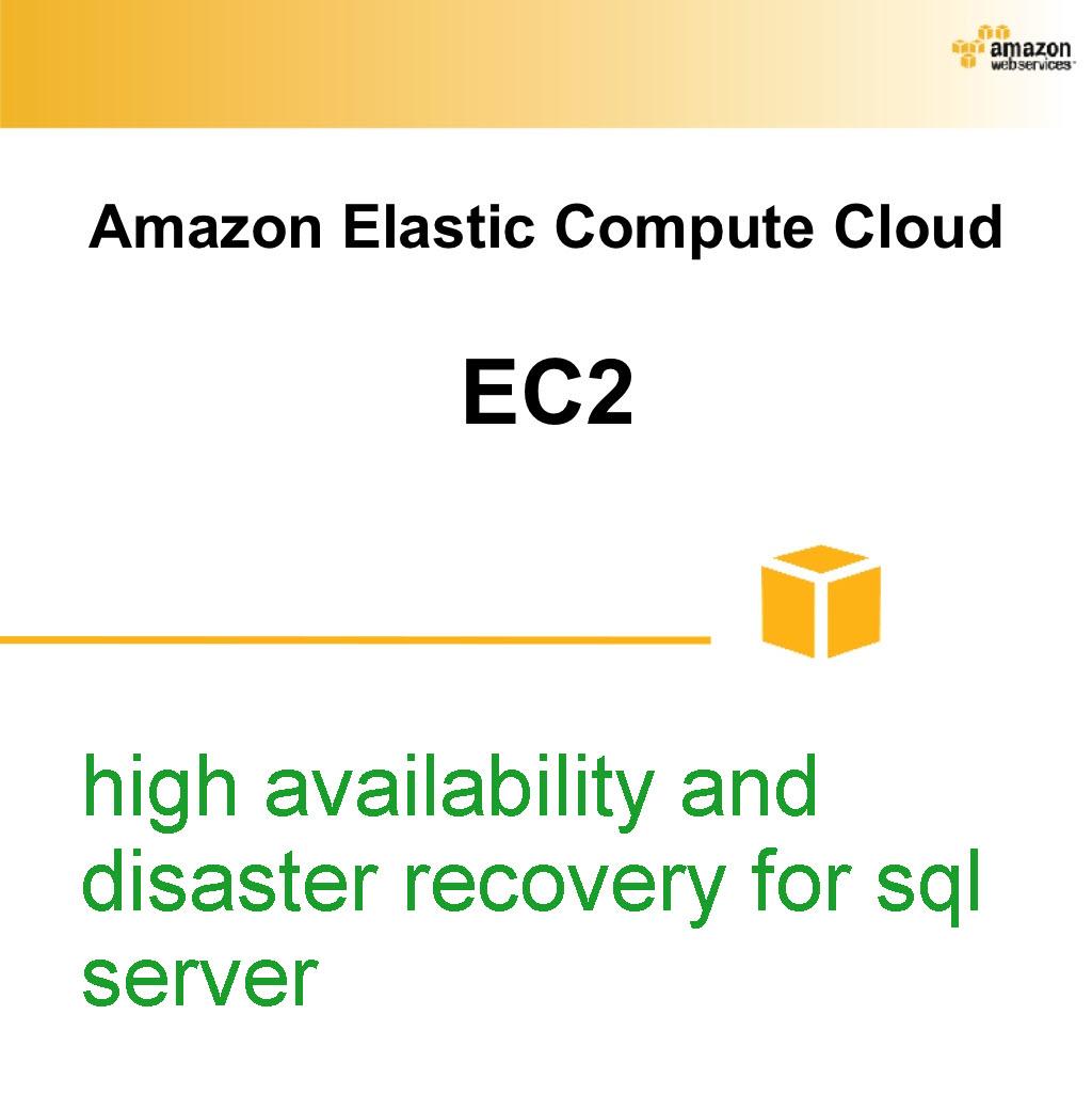 Amazon Elastic Compute Cloud EC2 Screenshot