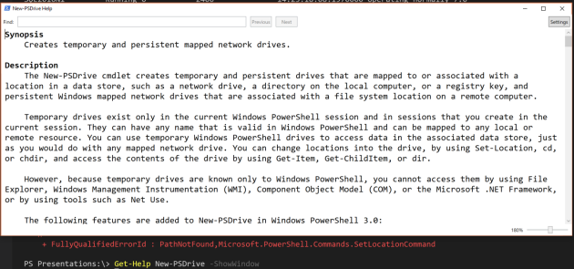 Using the PowerShell SQL Provider with SQL Authentication