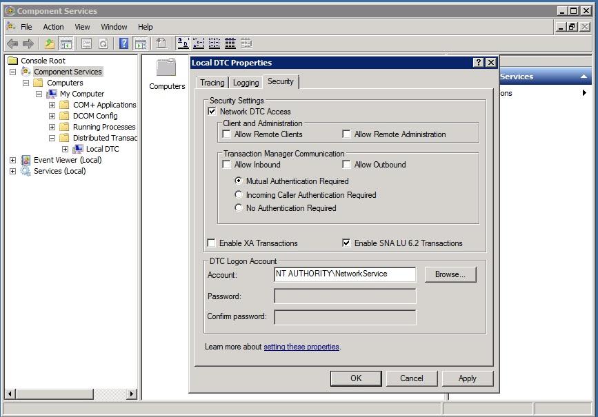SSIS Distributed Transactions – SQLServerCentral