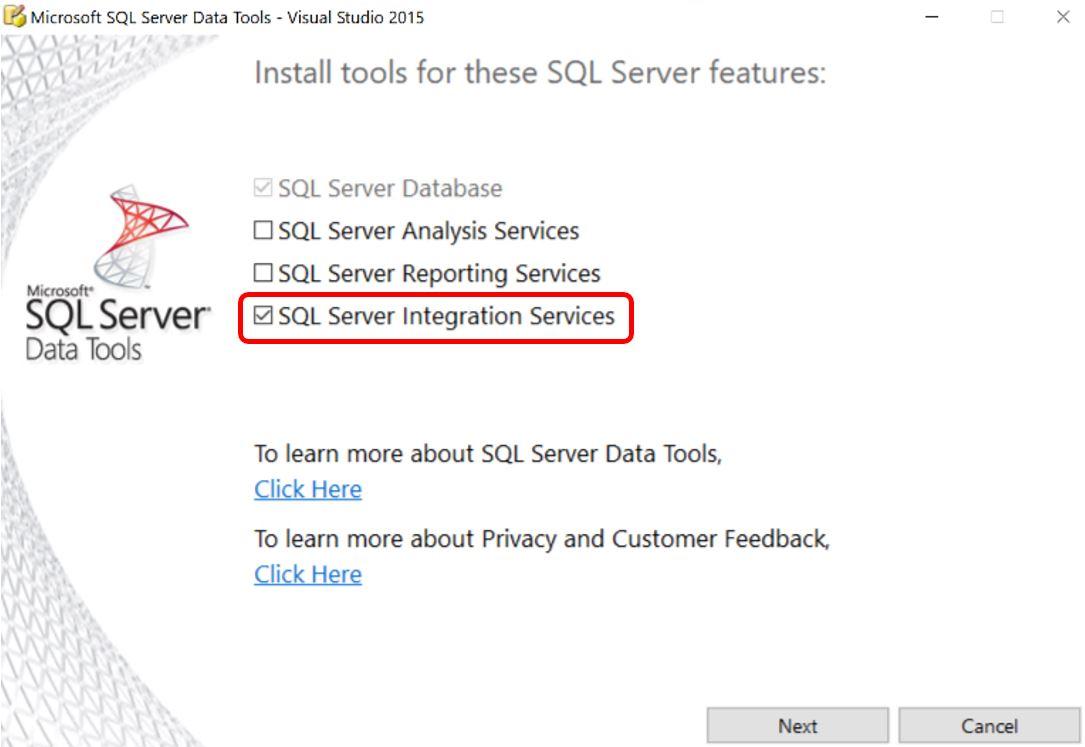 SQL Server 2016 SSIS Basics - Install SQL Server Data Tools