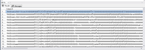 EBCDIC file is getting loaded with all special characters in my