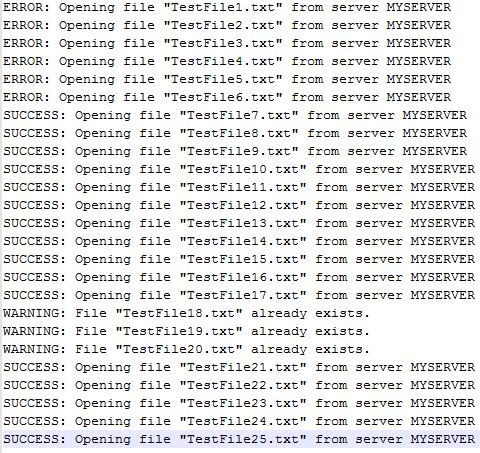 Parsing Log Files and Summarizing Results with PowerShell
