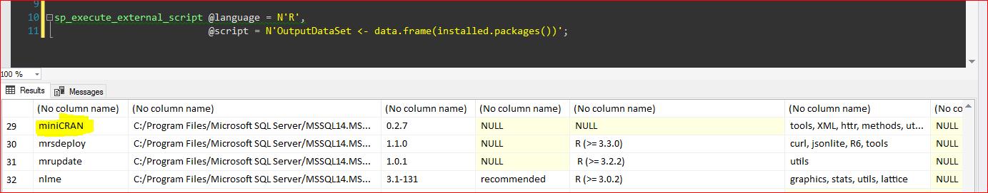 Identify R Package Dependencies Using miniCRAN