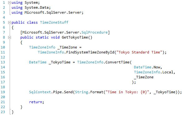 Source code for 'Supported Library Test' of 'StairwayToSQLCLR, Level 5: Development (Using .NET within SQL Server)'.