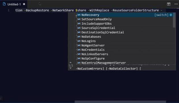 Easily Splatting PowerShell with VS Code – SQLServerCentral