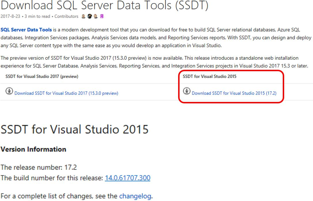SQL Server 2016 SSIS Basics - Install SQL Server Data Tools