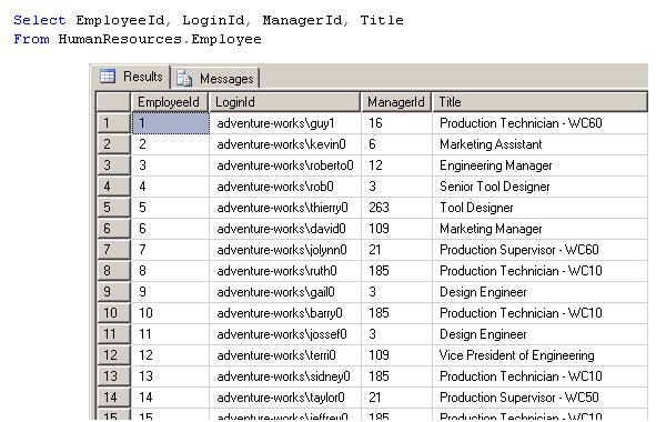 The HierarchyID Datatype in SQL Server 2008 – SQLServerCentral