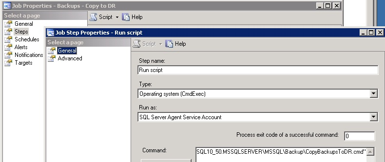Quick and Dirty DR Solution Using Robocopy – SQLServerCentral