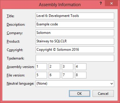 25_ProjectProperties-SQLCLR-AssemblyInformation-AfterIssue1