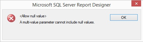 SSRS - Report for Stored Procedure with Multiple Values Passed