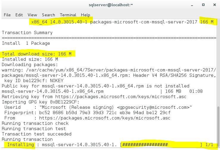 SQL Server 2017 for Linux First Impressions – SQLServerCentral