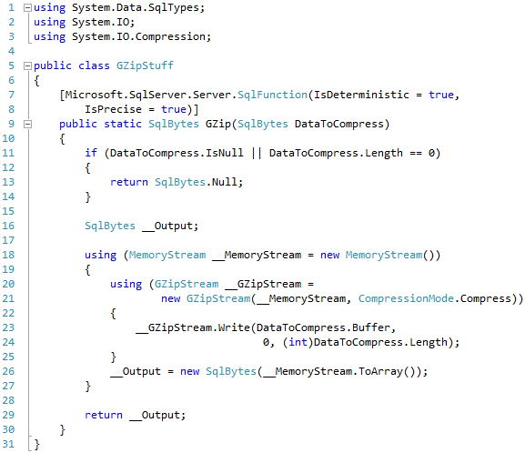 Source code for 'Framework Version Test' of 'StairwayToSQLCLR, Level 5: Development (Using .NET within SQL Server)'.
