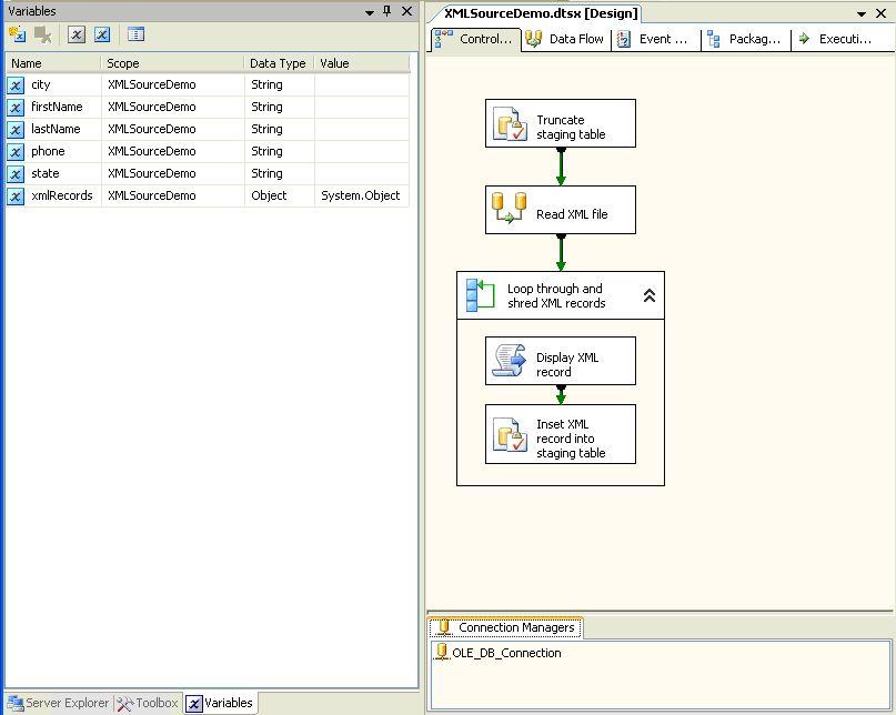 Hello SSIS World, From XML! – SQLServerCentral
