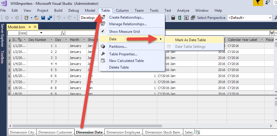 Stairway to SSAS Tabular Level 4: Implementing Date Dimensions