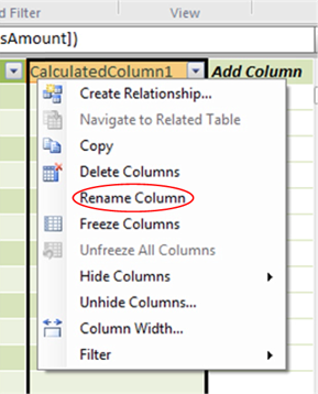 Renaming the Column to its Ultimate Name